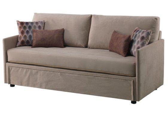 Συρόμενος Καναπές Κρεβάτι με 2 Ανατομικά Στρώματα Φ-105058