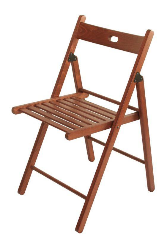 Ξύλινη Καρέκλα Πτυσσόμενη Κ-190322