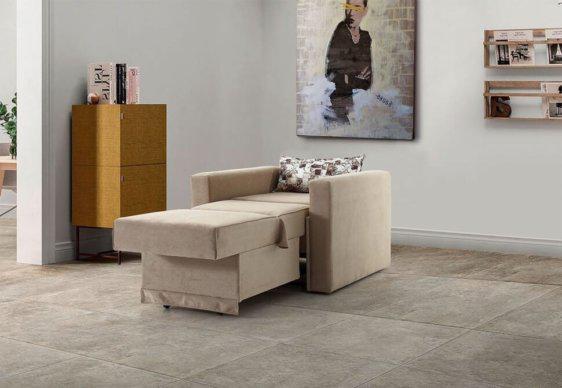 Άνετη Πολυθρόνα Κρεβάτι για το Σαλόνι Φ-135162