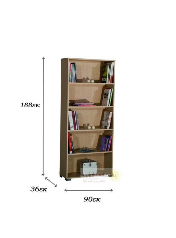 Διπλή Πολύχρωμη Βιβλιοθήκη Α-124079