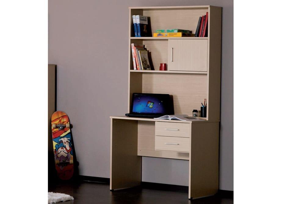 cf9d1e50262 Γραφείο με βιβλιοθήκη επικαθήμενη 90*187 - Epiplonet.com