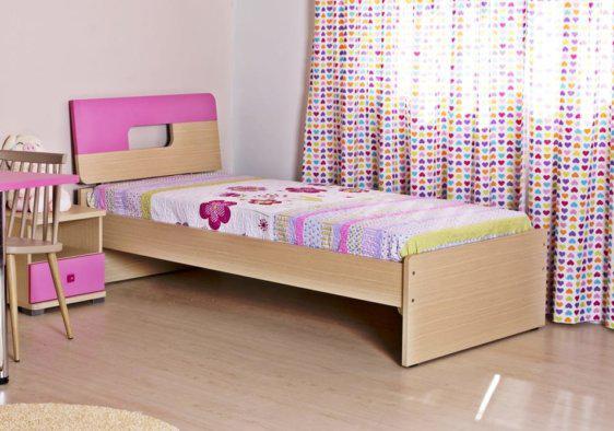 Κρεβάτι Square Μονό, Ημίδιπλο, Διπλό και Υπέρδιπλο Α-050703