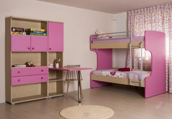 Κρεβάτι Κουκέτα Μισοφέγγαρο Α-280066