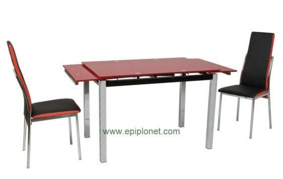 Τραπέζι Κουζίνας V-140147, Διαστάσεις:110(170)x74x75εκ.