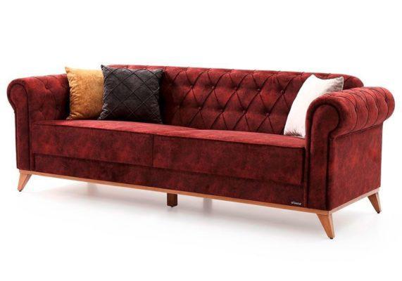 """Κομψός Κλασικός Καναπές-Κρεβάτι """"Ίκαρος"""" Φ-105075"""