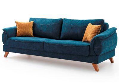 Υφασμάτινος Καναπές - Κρεβάτι Τριών Θέσεων Φ-105068