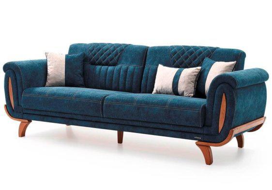 """Τριθέσιος Καναπές- Κρεβάτι 240Χ90 """"Κύλινδρος"""" Φ-105071"""