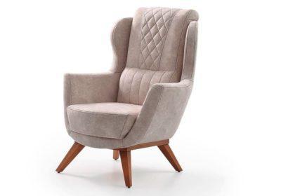 Υφασμάτινη Πολυθρόνα Με Γεωμετρικά Σχήματα Φ-135175