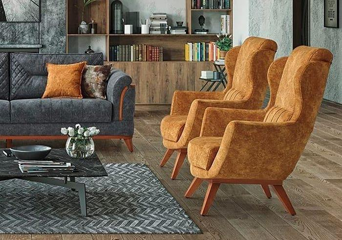 Πολυθρόνα με Ενσωματωμένο Μαξιλάρι Μέσης Φ-135171