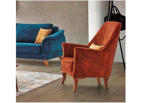 Παραδοσιακή Πολυθρόνα Σαλονιού Φ-135172