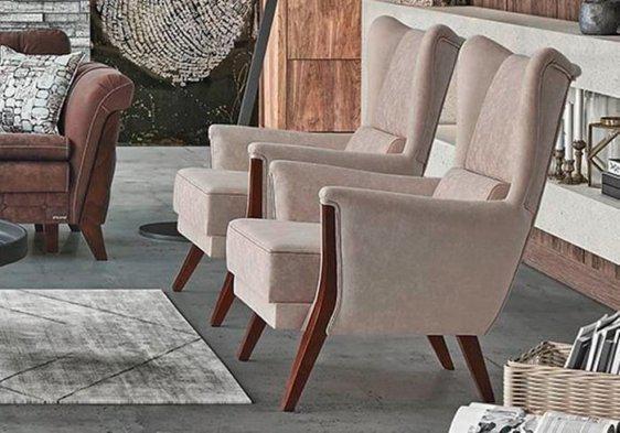 Μοντέρνα Πολυθρόνα Σαλονιού Matrix Φ-135168
