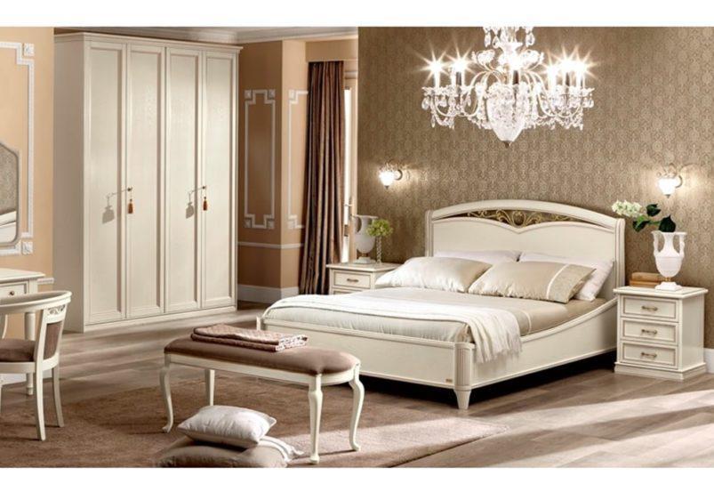 Ρομαντικό Κρεβάτι με Καμπυλωτά Πλαϊνά CG-0370154
