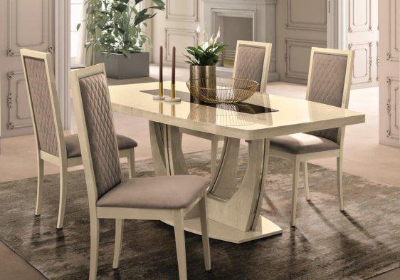 Ιταλικό Τραπέζι Με Επέκταση Μοντέρνου Σχεδιασμού CG-122095
