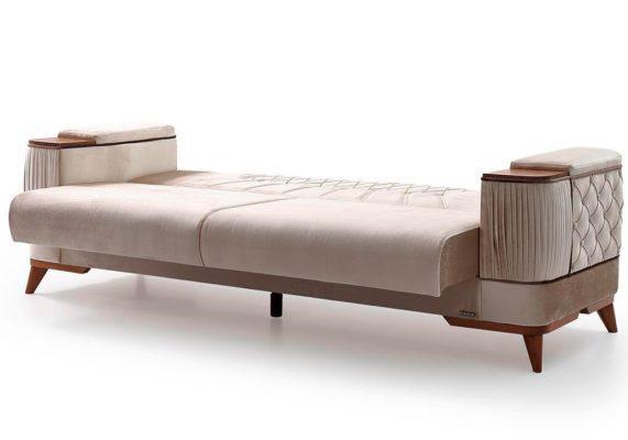 Μοντέρνος Πολυτελής Καναπές με Κλασικά Στοιχεία Φ-105080