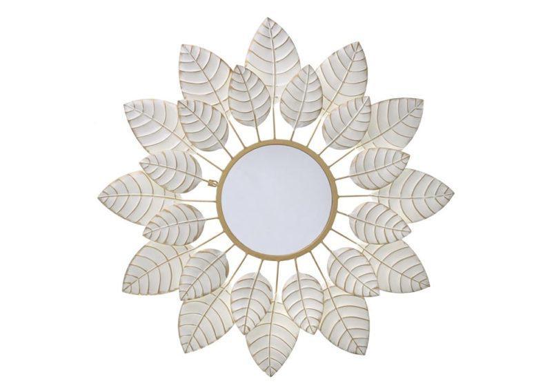 Vintage Καθρέφτης Λουλούδι σε 3 Αποχρώσεις Η-33174