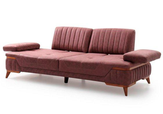 Καναπές Μοντέρνος με Πτυσσόμενα Μπράτσα και Πλάτη Φ-105079
