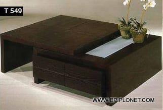 Τραπέζι Σαλονιού T549 120017
