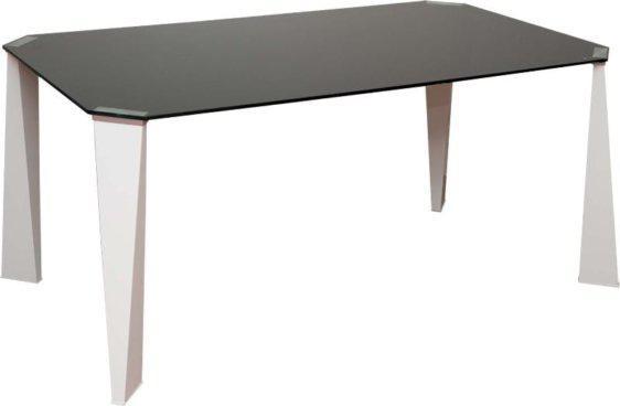 Σταθερό Τραπέζι Κουζίναs Γυαλί KO-140185, Διαστάσεις:90x160