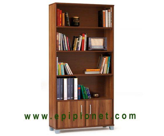 Βιβλιοθήκη Μελαμίνης με 4 Ράφια 95x30 125016
