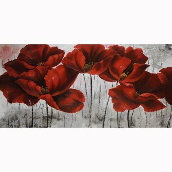 Πίνακας Ζωγραφικής Κόκκινες Παπαρούνες 15-00-12157