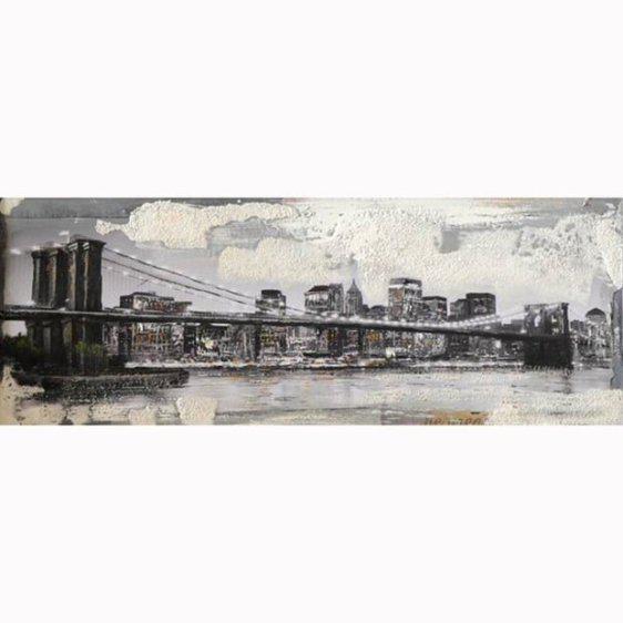Πίνακας Ζωγραφικής Γέφυρα Νέα Υόρκη 15-00-12171