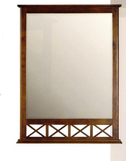 Καθρέφτης απο Ξύλο Μαόνι J-137517
