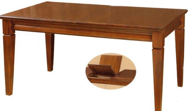 Τραπέζι Τραπεζαρίας Ανοιγόμενο από Μαόνι 121018