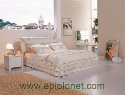 Κρεβάτι Δερμάτινο U-Karla