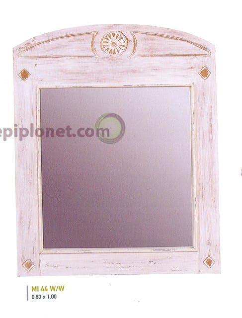 Καθρέφτης σε Λευκή Πατίνα J-143524