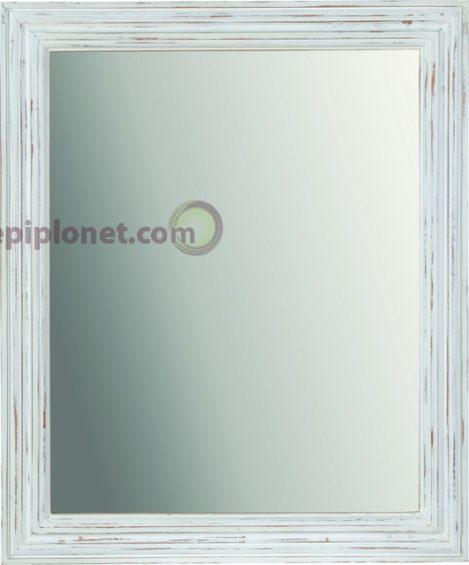 Καθρέφτης σε Λευκή Πατίνα J-143525