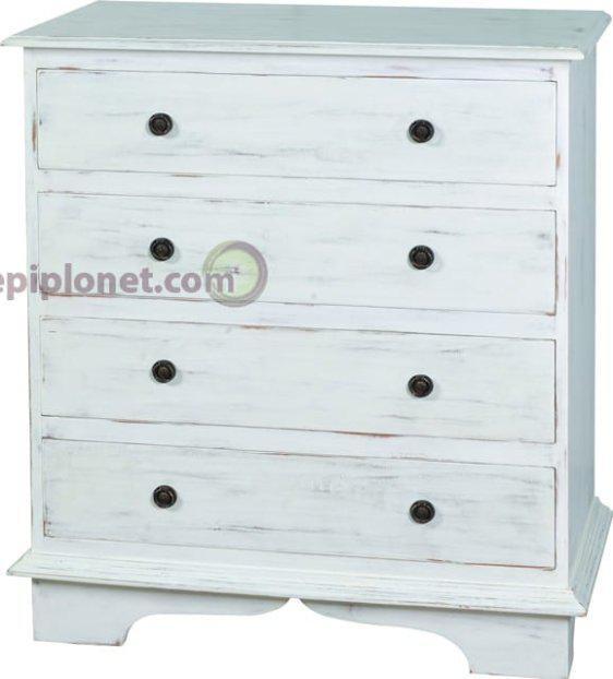 Συρταριέρα σε Λευκή Πατίνα J-143529