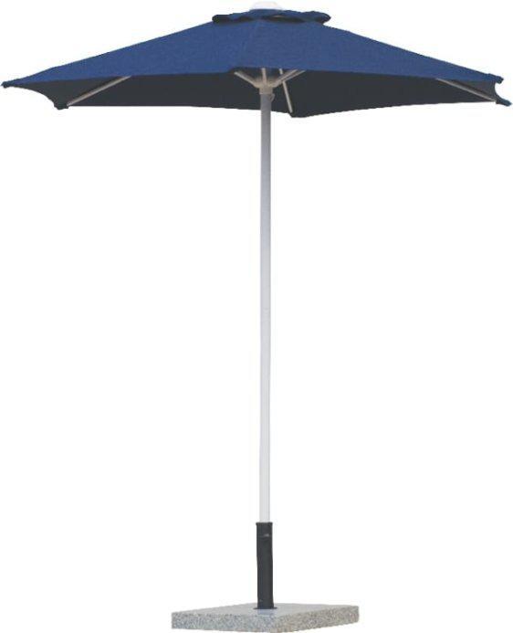 Ομπρέλα  Βεράντας-Κήπου Αλουμινίου Στρογγυλή σε Μπλε Χρώμα Sar-106873