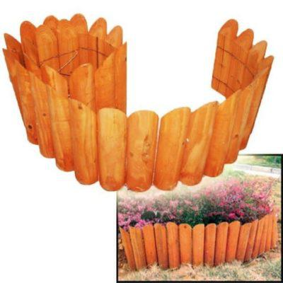 Ξύλινος Φράχτης Διακοσμητικός Κήπου 15-00-10418