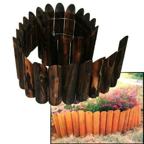 Ξύλινος Φράχτης Διακοσμητικός Κήπου 15-00-10419