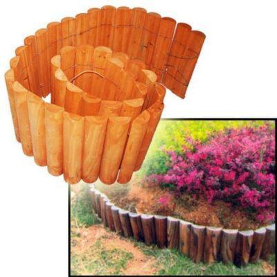 Ξύλινος Φράχτης Διακοσμητικός Κήπου 15-00-10420
