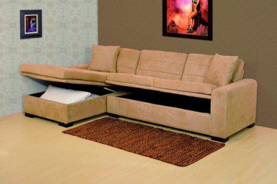Σαλόνι γωνία κρεβάτι με αποθηκευτικό χώρο Boston-100029